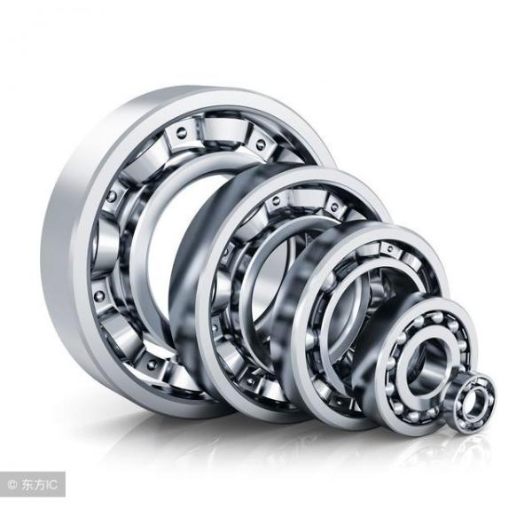 Timken T127 T127W Thrust Tapered Roller Bearings #2 image